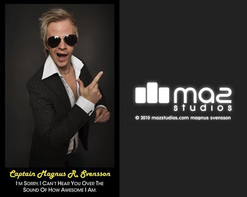Magnus Svensson of MAZ Studios