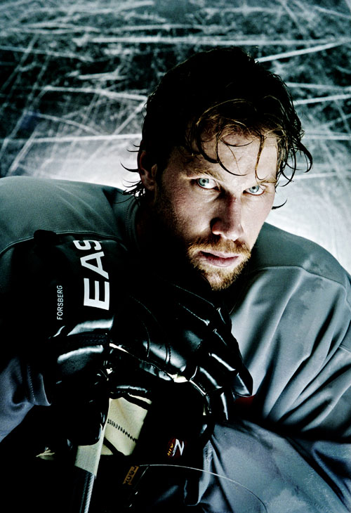 peter forsberg sport portrait lighting setup